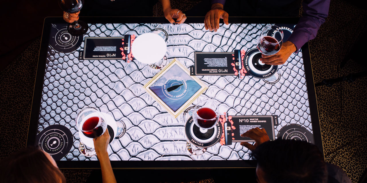 Its Time For More Interactive Tables At Restaurants INPHANTRY - Restaurant table games